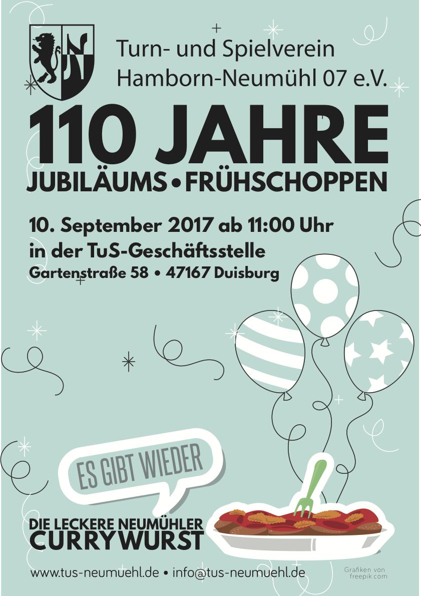 110-Jahre-Jubiläums-Frühschoppen